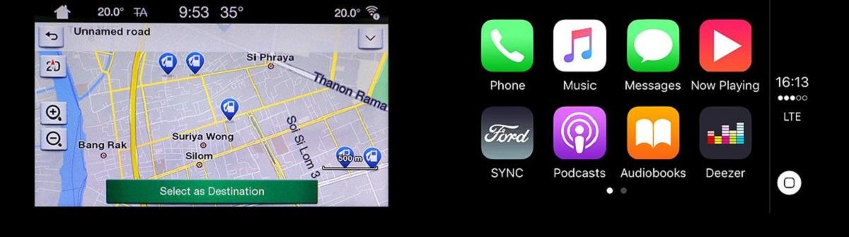 hỗ trợ Apple CarPlay4 và Android Auto5, nhờ đó bạn có thể sử dụng các ứng dụng di động yêu thích khi đang ở trên xe.